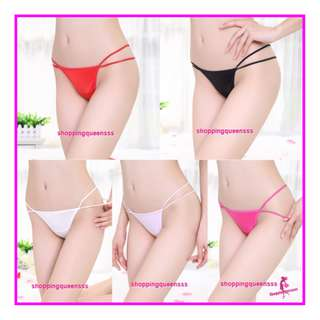 Sexy Women Underwear Sides Tie G-String Thong Panties Sexy Lingerie Pajamas L292