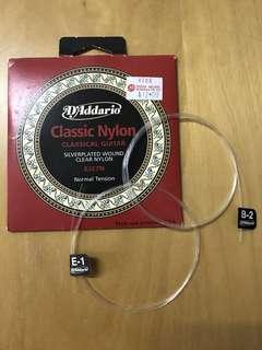 D'Addario Classical Guitar Nylon Strings