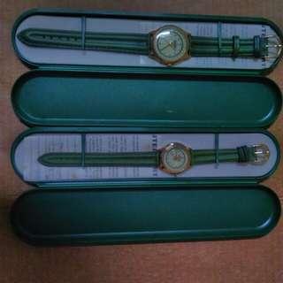 海尼根Heineken男女對錶-國外藏品