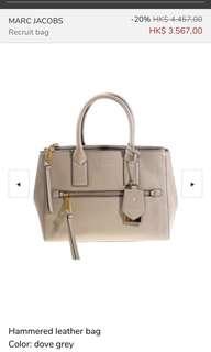 Marc Jacobs bag 100%real 斯文返工袋 100%新!