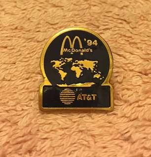 絶版麥當勞襟章