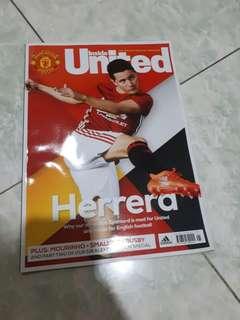 Majalah manchaster united #kanopixcarousell