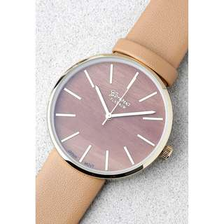Lulus Vegan Leather Watch