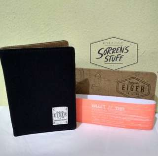 Dompet Eiger Canvas Blue Vertical