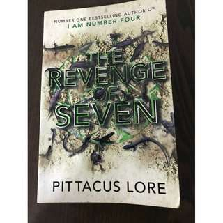 The Revenge of Seven Novel by Pittacus Lore (extra copy)