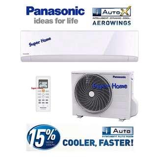 Aircond Panasonic wall 1hp