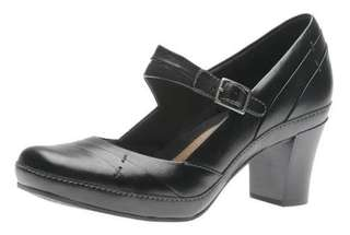 Original Artisan Clark Mika Jane Black Shoes