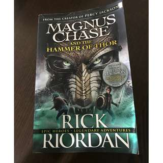🚚 The Hammer of Thor Novel by Rick Riordan