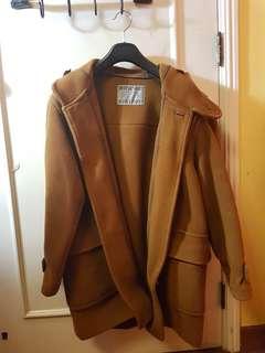 Oversized winter Duffle Coat (Caramel)