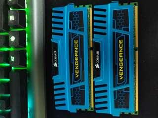 🚚 CORSAIR VENGEANCE DDR3 (4X2)