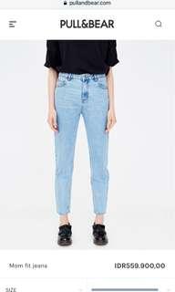 pull & bear mom jeans