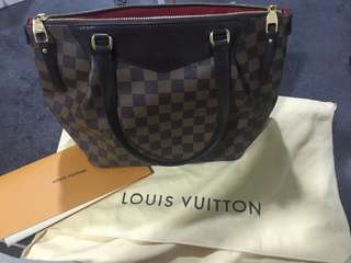 Authentic Louis Vuitton Bag - Westminster PM Damier