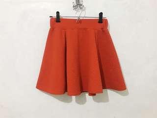 Classy Red Skirt