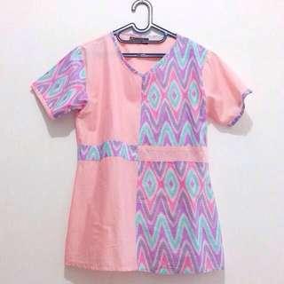 NEW - Blouse Batik Modern / Atasan Batik