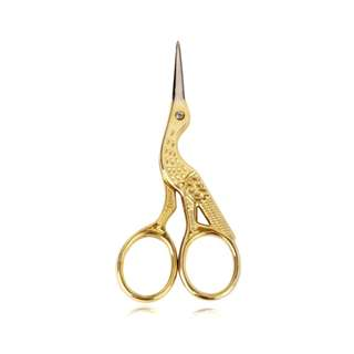 🚚 Tool: Golden Vintage Stork Scissors