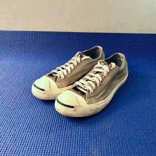 Converse Jack Purcell Light Gray kondisi 90% Size 43