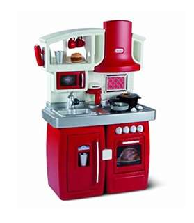 BN Little Tikes 2-in-1 Cook 'N Grow Red Kitchen Play Set with Sounds