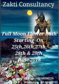 Zakti Full Moon Flower Bath
