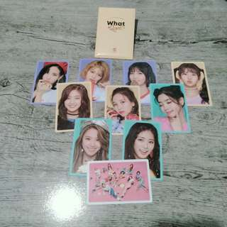 (ON HAND) TWICE - WHAT IS LOVE Photocard Set Preorder Benefit (Version B)