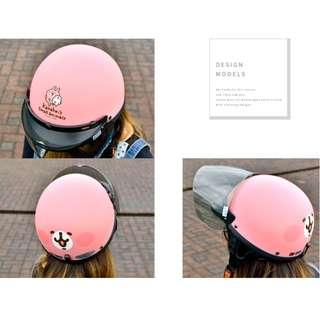 🚚 卡娜赫拉 半罩式安全帽 免費送鏡片