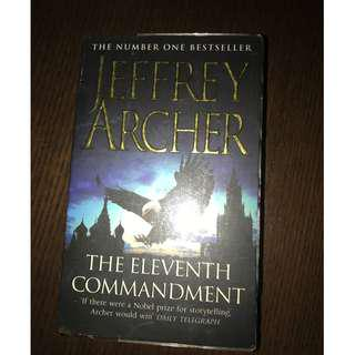 🚚 The Eleventh Commandment Novel by Jeffrey Archer