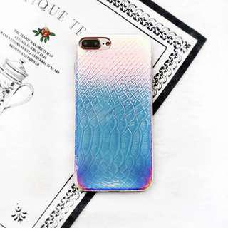 🚚 Snake Skin Holographic iPhone Case