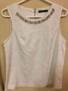 Forme white top