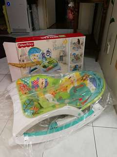 Fisher price baby rocker with music