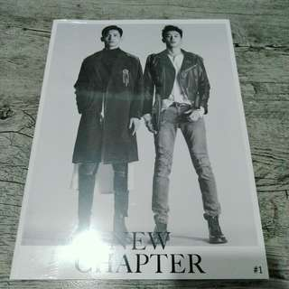 (ON HAND) TVXQ - NEW CHAPTER: CHANCE OF LOVE