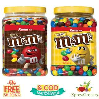 M&M's Jar Pantry Size M&M M&Ms 62oz