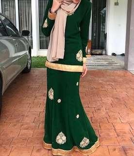 Sheesha Kurung Saree