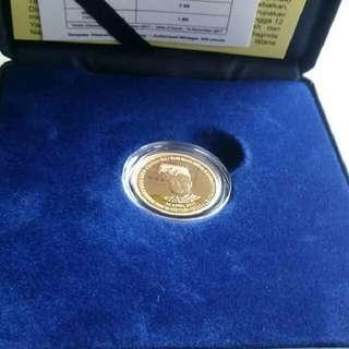 Gold Coin Peringatan Pertabalan Agong