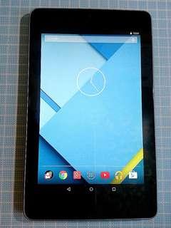 Asus Nexus 7 Wifi 16G (1st Gen) 平板