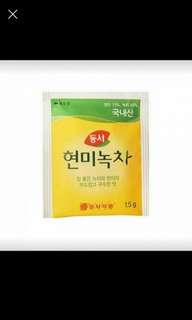 Dong Seo Korean Brown Rice Green Tea Bag 37.5g