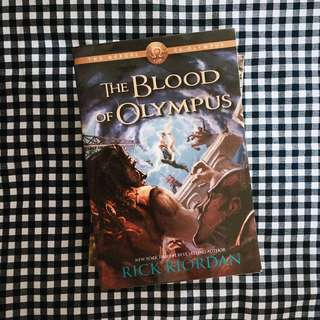 The Blood of Olympus (by Rick Riordan)