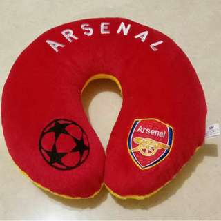 Bantal Leher Bola Arsenal Murah Di Jakarta
