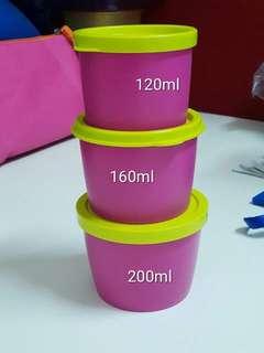 Tupperware snack cup sale