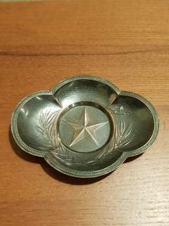 Genuine & Original WW2 Imperial Japanese Army Cigarette Ashtray
