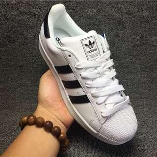 ADIDAS SUPERSTAR II 三葉草 貝殼頭 白色黑標 女生休閒運動鞋 滑板鞋 慢跑鞋 G17068