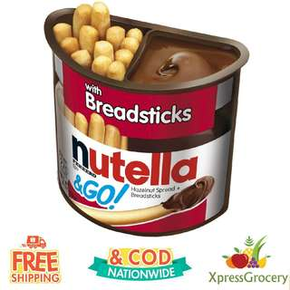 NUTELLA & GO Chocolate Breadsticks