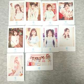 Twice candy pop小卡