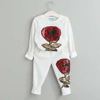 FREE POSTAGE Baju Tidur Bunga Ros