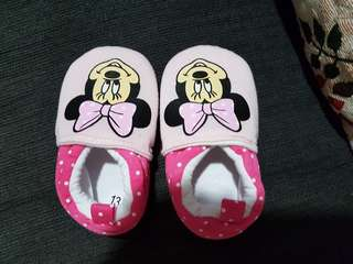 Brand New Minnie baby shoes