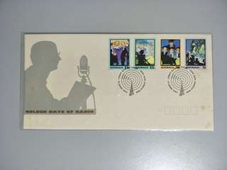 Australia FDC Golden Days of Radio