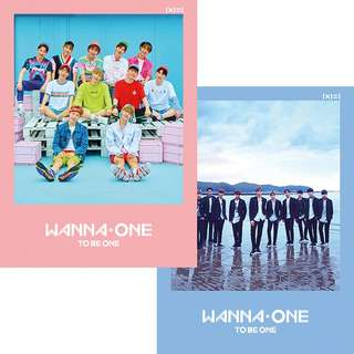 [READY STOCK] WANNA ONE 'TO BE ONE' ALBUM