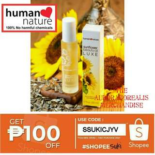 Sunflower Beauty Luxe Oil