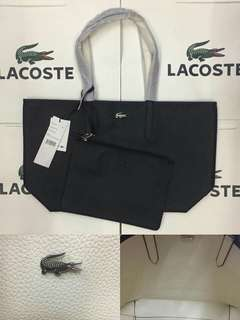 Lacoster reversible tote.bag