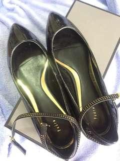 Pedro flat shoes black strap