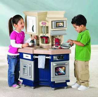 BN Little Tikes Super Chef Kitchen Play Set with Sounds