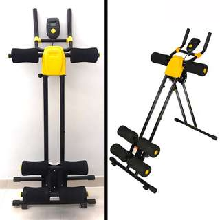 ABDOMINAL CRUNCH FOLDABLE EXERCISE MACHINE STOMACH MUSCLE